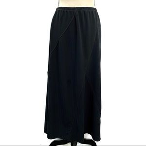 :J. Jill  Elastic Waist Panel A Line Maxi Skirt